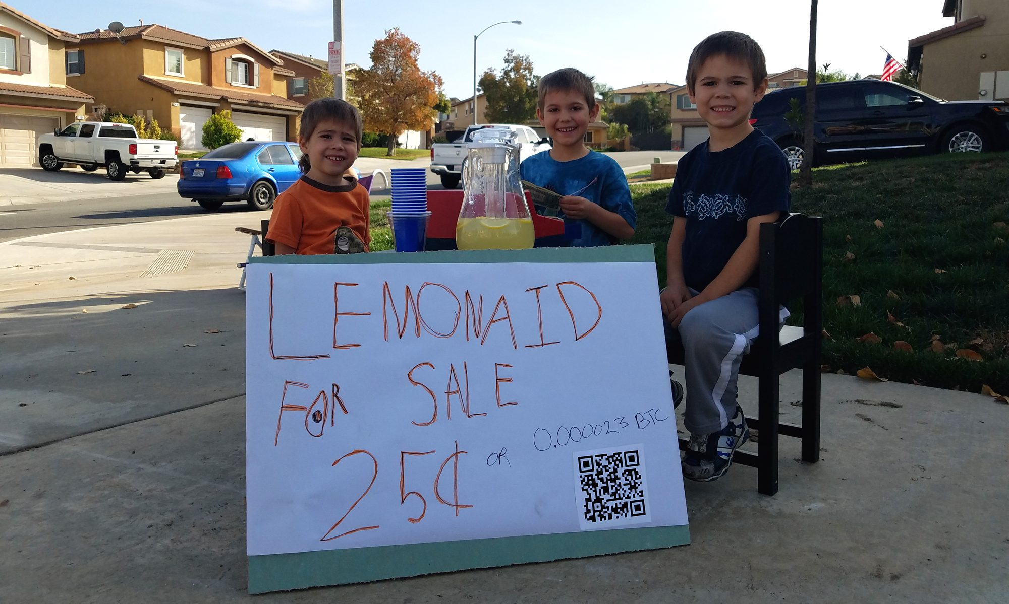 Bitcoin Lemonaid